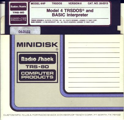 Disk-M4TRSDOS
