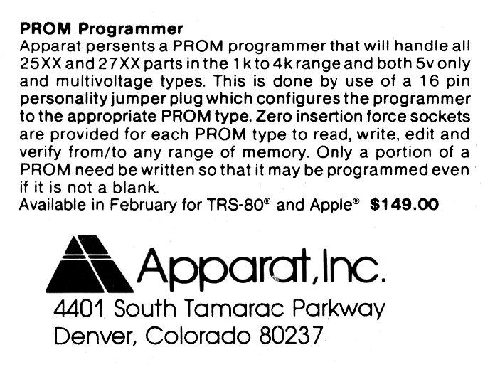 ad-promprogrammer(apparat)