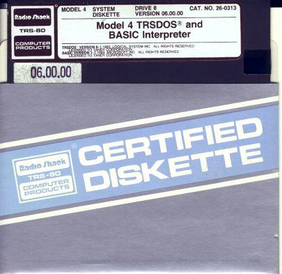 Disk-M40TRSDOS