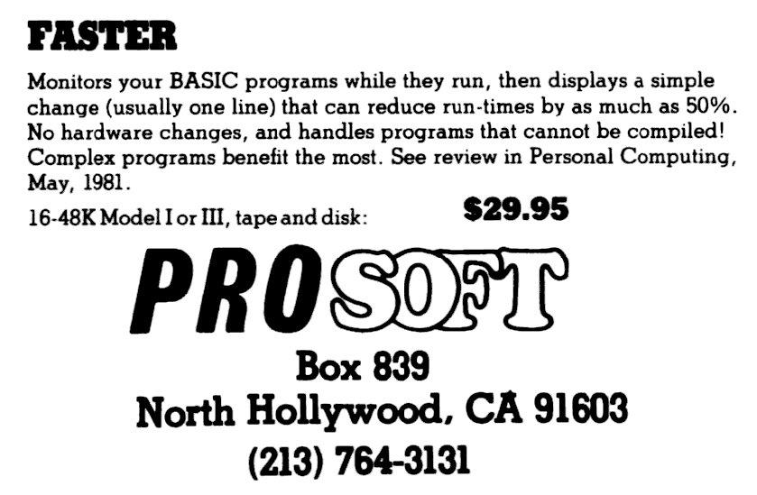 ad-faster(prosoft)
