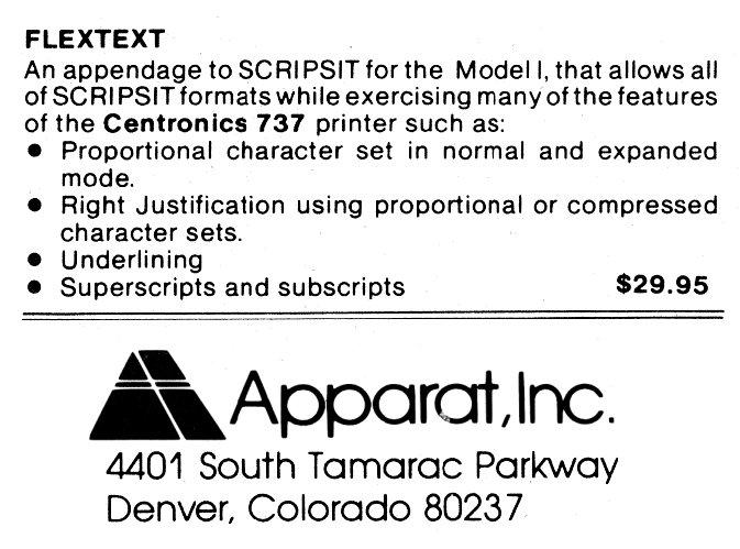 ad-flextext(apparat)
